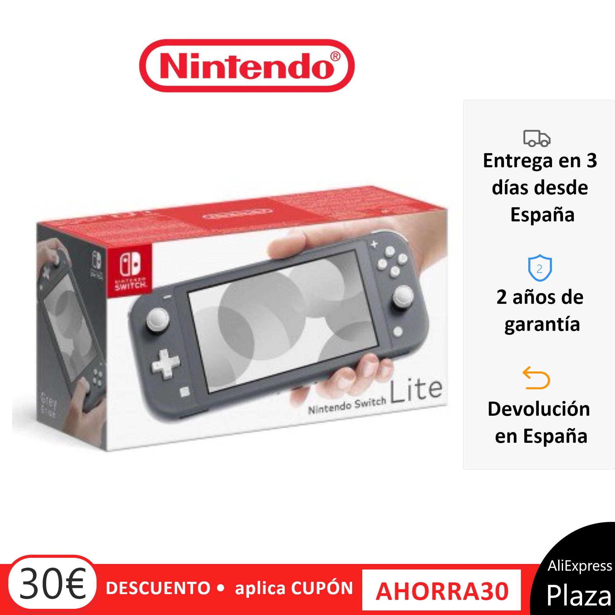 Switch Lite desde España a buen precio