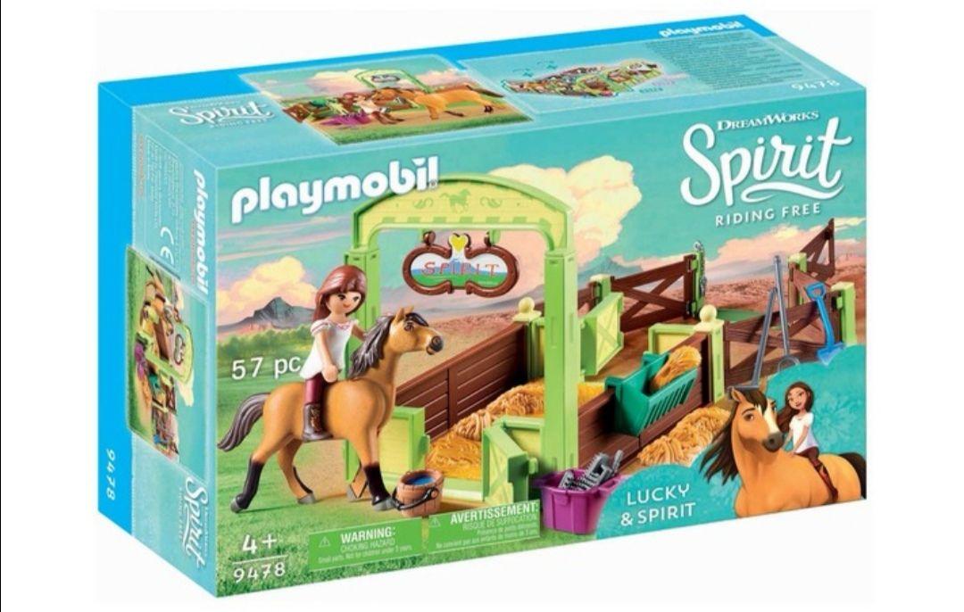 PLAYMOBIL DreamWorks Spirit Establo Fortu y Spirit