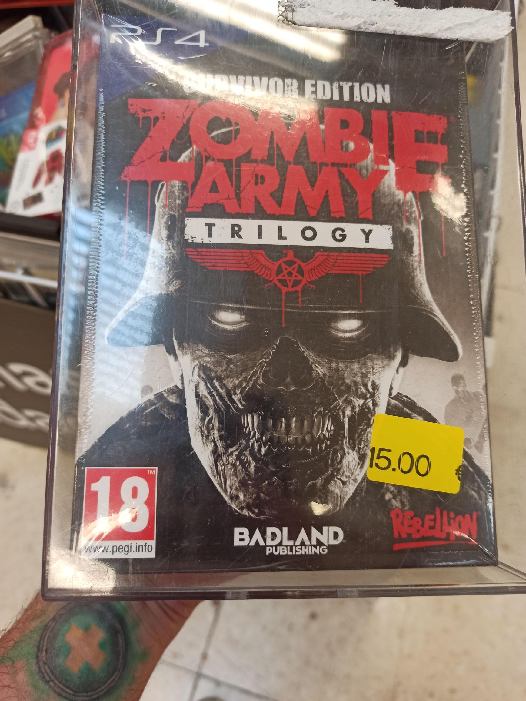 Zombie army triology (Carrefour Castellón)