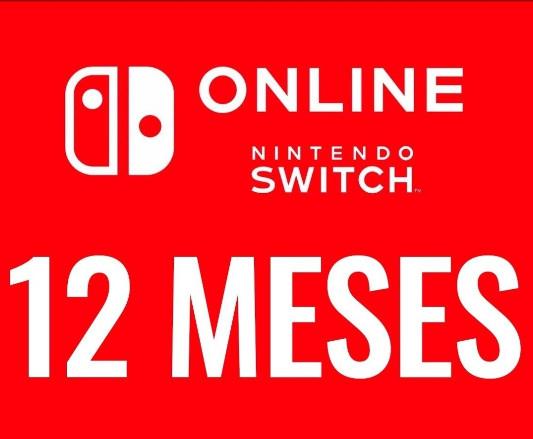 Suscripción Nintendo Switch Online 12 meses por 15,75€