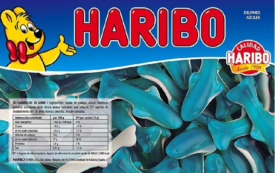 Haribo Delfines Azules - caramelos de goma (1 kilo)