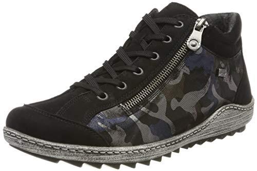Remonte R1483, Zapatillas Altas para Mujer (Talla 37)