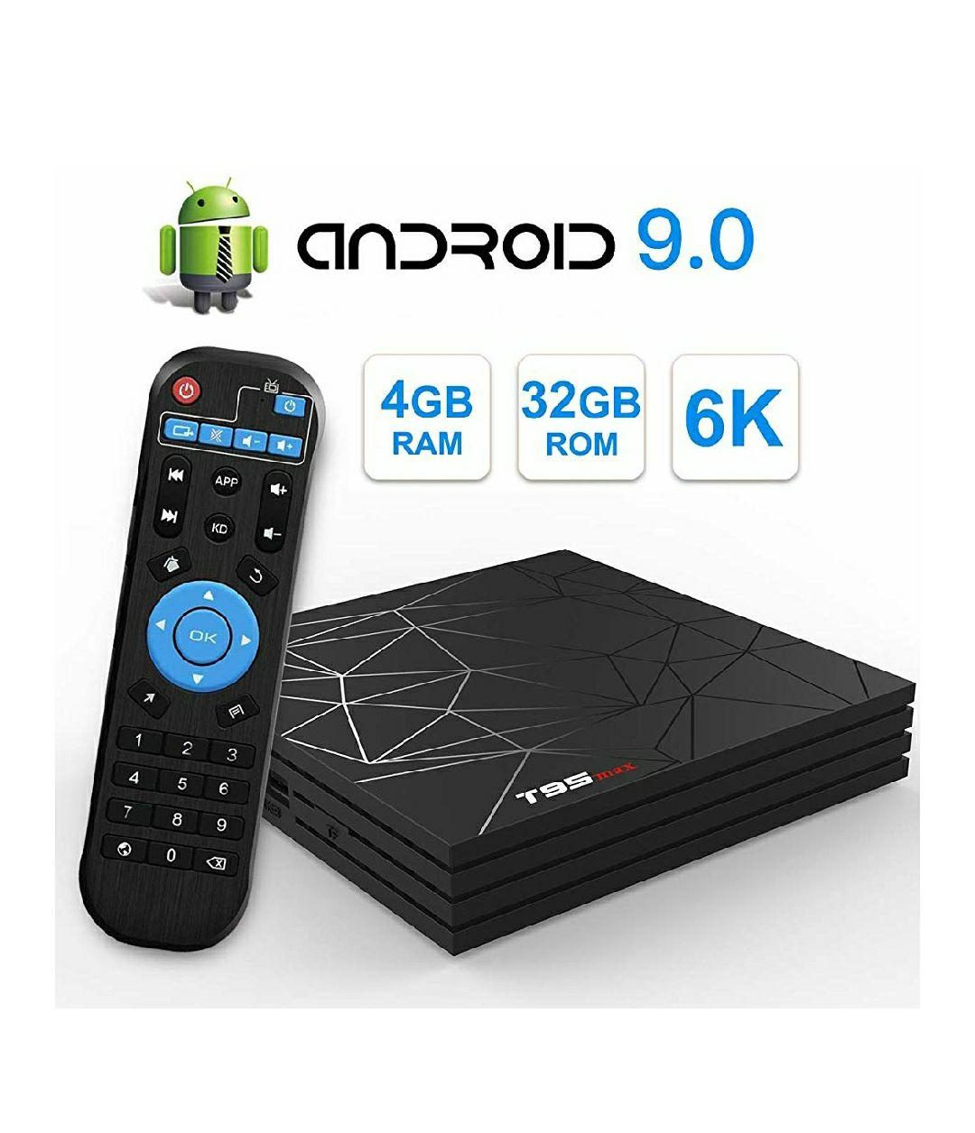 T95 MAX Android 9.0 TV Box 4GB RAM/32GB ROM