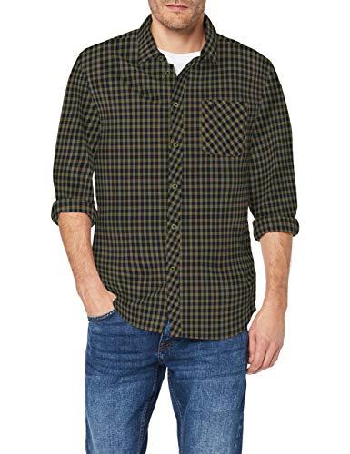 Mustang Clemens KC Check Camisa para Hombre