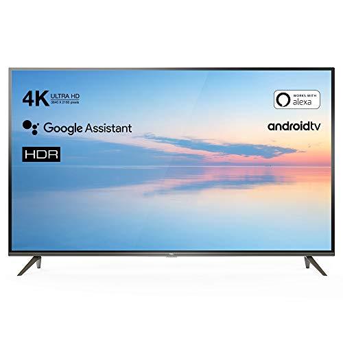 TCL 50EP640 Televisor 126 cm (50 Pulgadas) Smart TV (4K UHD, HDR10, Micro Dimming Pro, Android TV, Alexa, Google Assistant)