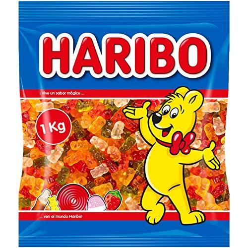 1 kg de ositos Haribo por 3,81€ (compra mínima 2 unidades)