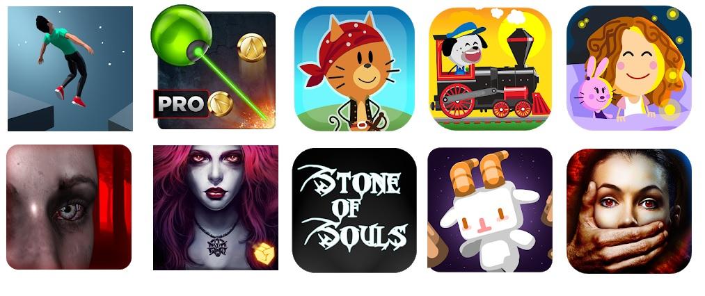 ANDROID: 10 juegos gratis (16-05-18) - Incluye infantiles y terror