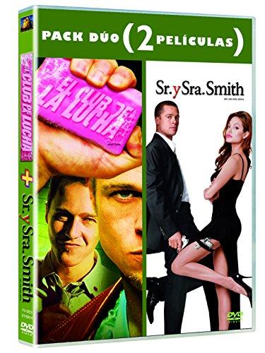 Pack DVD Sr. y Sra. Smith + El Club de la lucha