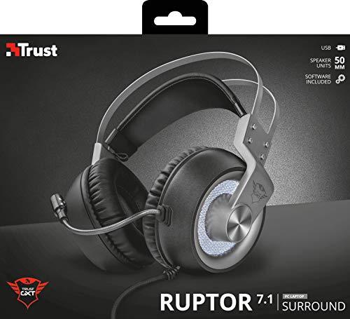Trust GXT 4376 - Ruptor Auriculares con Sonido Envolvente 7.1
