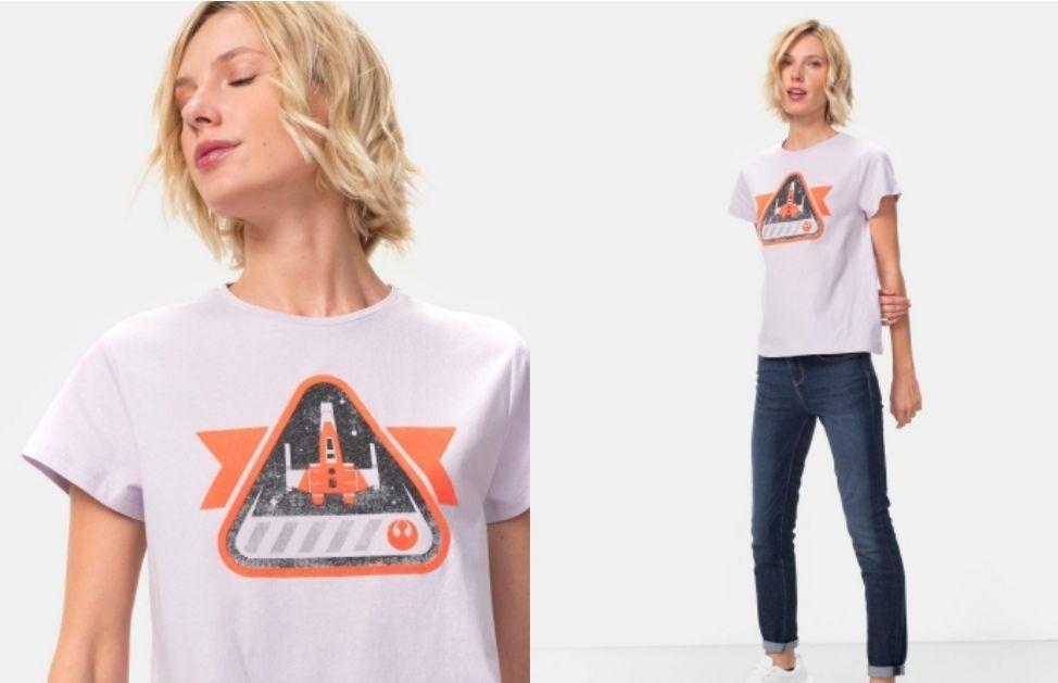 Camiseta estampada para Mujer Star Wars de DISNEY