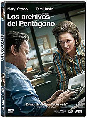 DVD Los Archivos del Pentágono a precio de risa