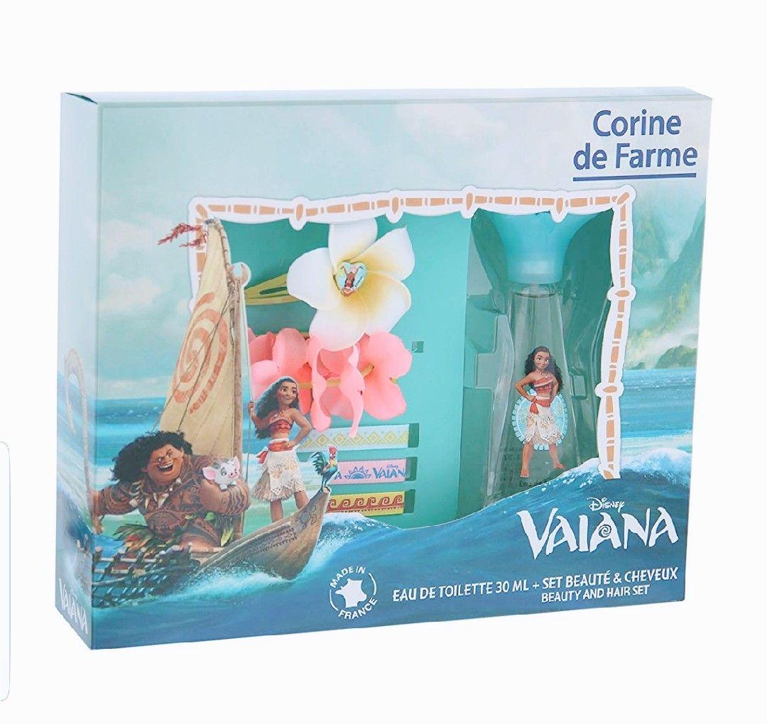 Corine de Farme Coffret Vaiana. Eau de toilette+prendedor+pulsera+3 cintas.