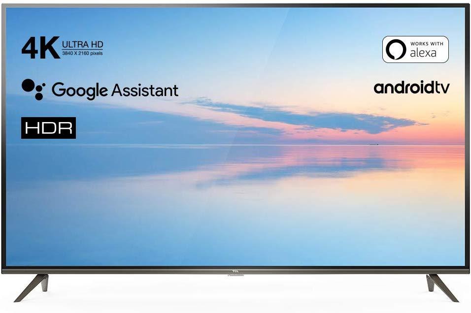 Television de 65 pulgadas con Smart TV, Android TV y Alexa mínimo Histórico