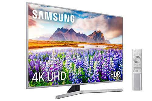 """Samsung 4K UHD 2019 43RU7475 - Smart TV de 43"""" [serie RU7400], HDR (HDR10+), Procesador 4K, Diseño Metálico, Apple TV y compatible con Alexa"""