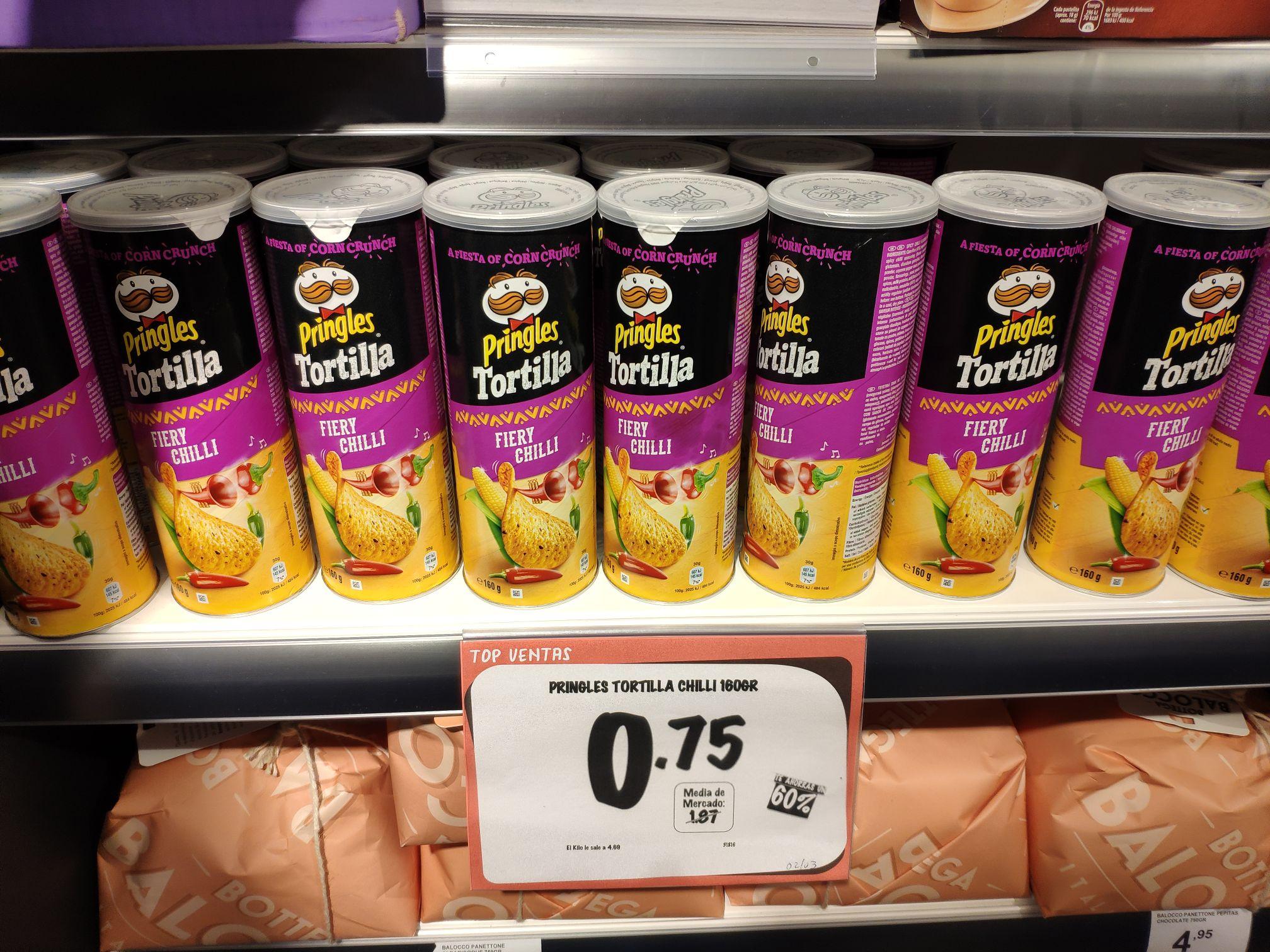 Pringles tortilla chili en primaprix gijon