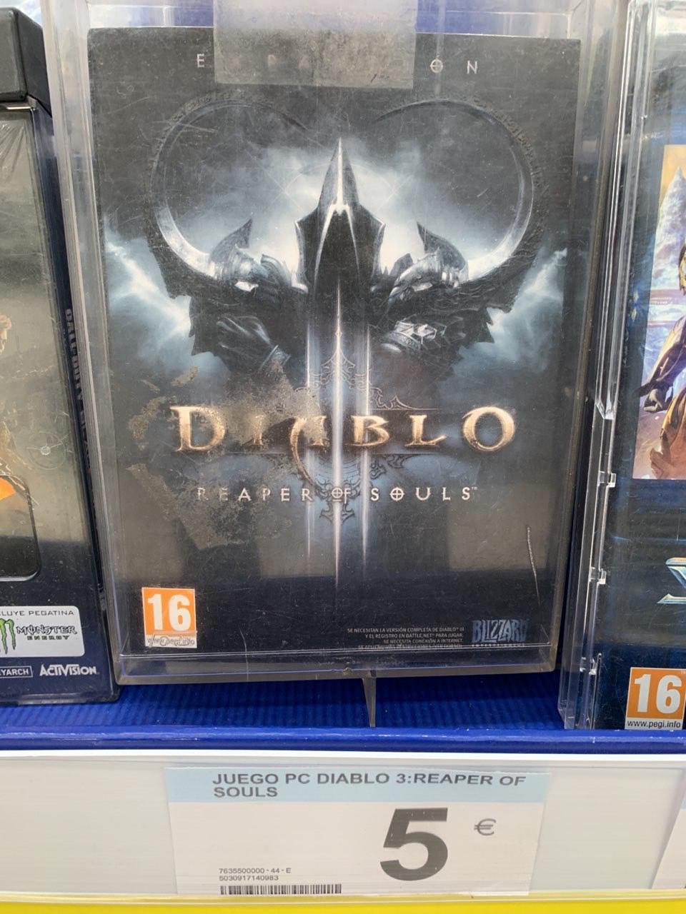 Diablo 3 Reaper of Souls (Carrefour Huelva)