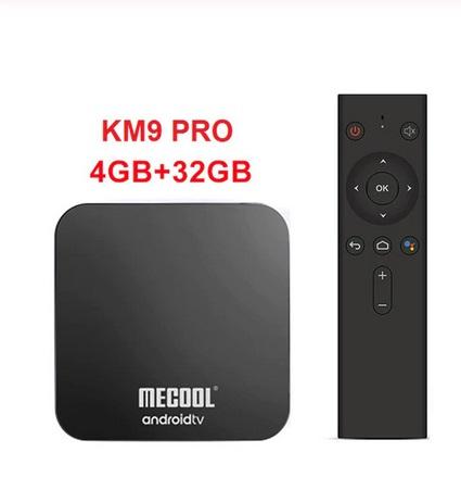 MECOOL KM9 PRO 4G+32G Certificado Google para Netflix, envío desde España