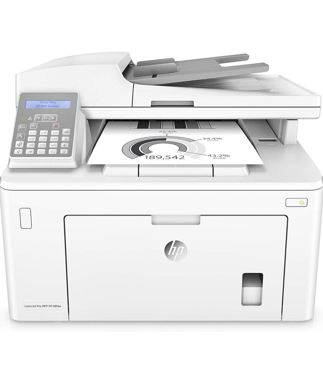 HP LaserJet Pro M148fdw Laser 28 ppm 1200 x 1200 DPI A4 Wifi - Impresora multifunción