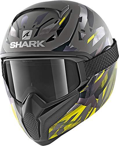 Shark Casco integral VANCORE 2 kanhji negro gris amarillo