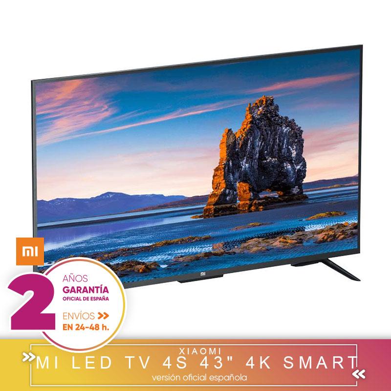 SMART TV TELEVISOR XIAOMI 43 PULGADAS CON GARANTIA OFICIAL ESPAÑOLA Y ENVIO 3 DIAS DESDE ESPAÑA