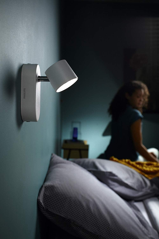 Philips Lighting myLiving Foco, iluminación interior, 9 W, Blanco, 1 Puntos de luz [Clase de eficiencia energética A]