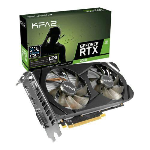 Tarjeta Gráfica GeForce RTX 2060 6 GB GDDR6