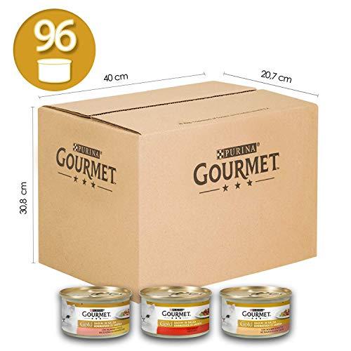 96 Latas de daditos en salsa Gourmet Gold