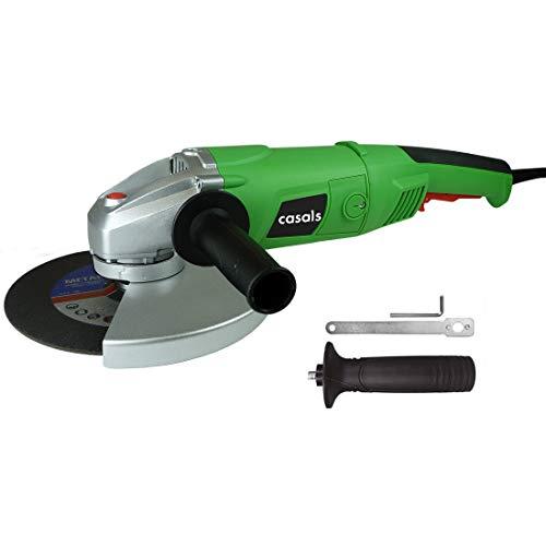 Casals C08076000 Mini amoladora con 2000 Watios + 1 disco