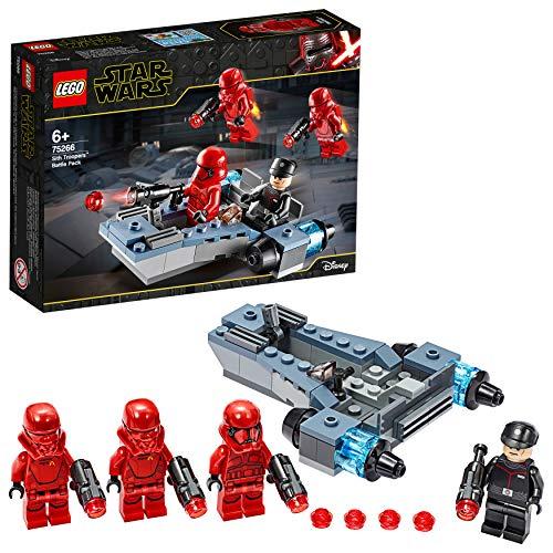 LEGO Star Wars - Pack de Combate: Soldados Sith, Vehículo de un Soldado de Asalto de Juguete, Incluye 4 Minifiguras