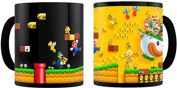 Taza Super Mario que cambia de color con la temperatura del líquido - Disponible