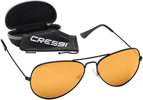 Cressi Nevada Gafas, Unisex Adulto, Negro/Lente Gris, Talla Única