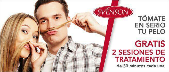Svenson 2 Sesiones de tratamiento GRATIS