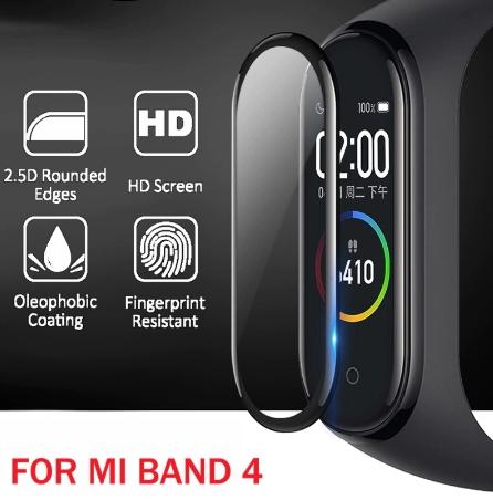 10 protectores de pantalla para MI BAND 4 ! Solo 4,39 euros !!!!