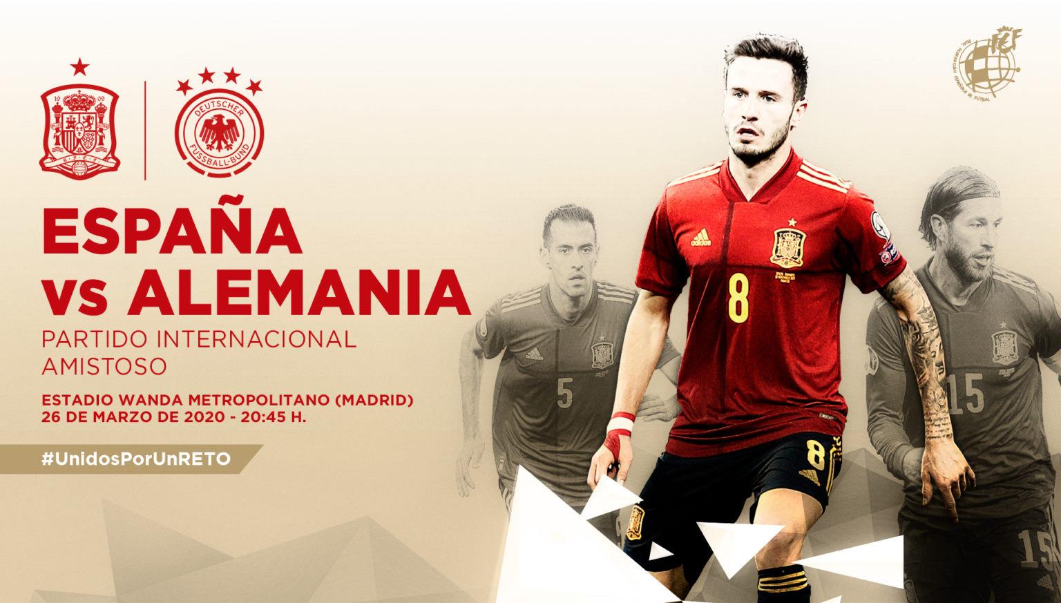 10 % Descuento España vs Alemania en el Wanda Metropolitano