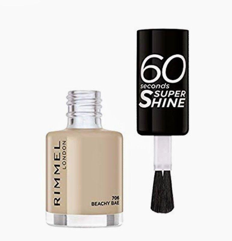 Rimmel London 60 Seconds Super Shine.