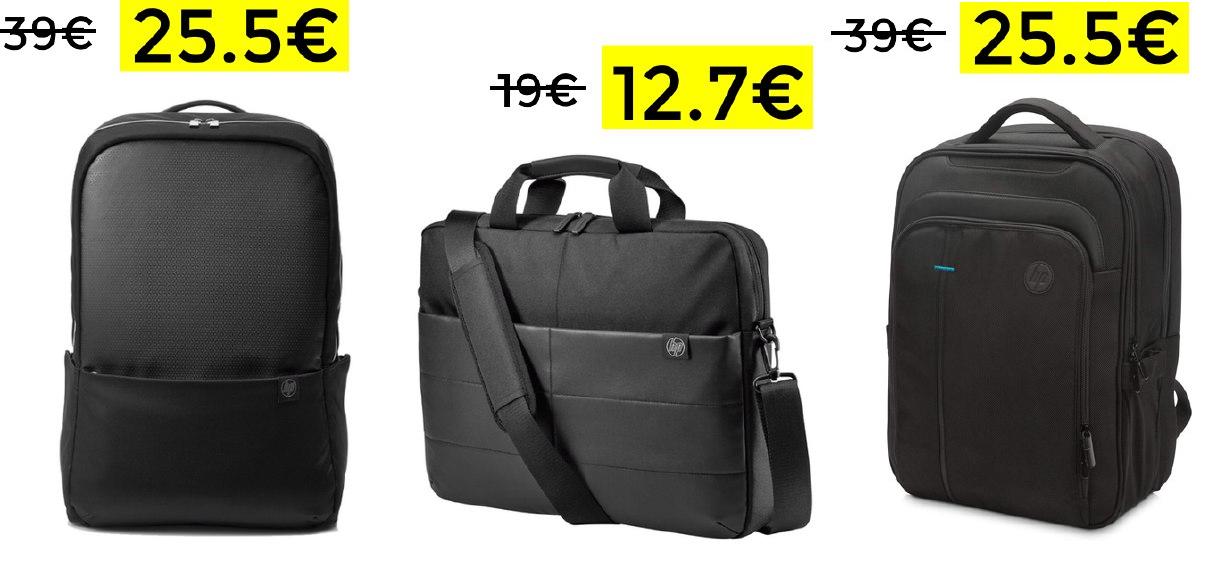 Selección de mochilas y maletines HP hasta el 40%