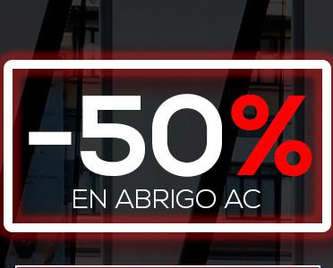 ATHLETIC CLUB: 50% DTO. en toda la colección de ropa de Abrigo (Hombre, Mujer e Infantil)