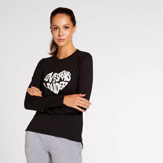 2 camisetas mujer Sprinter color negro y rosa (precio unitario)
