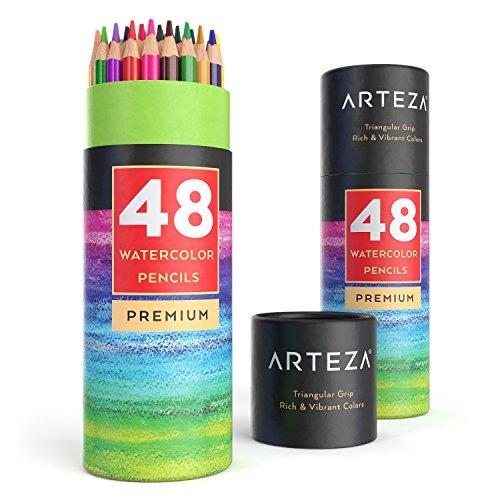 Pack Arteza de 48 lápices acuarelables