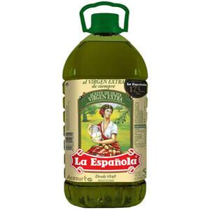Garrafa Aceite de Oliva Virgen Extra 5L LA ESPAÑOLA (AlCampo)