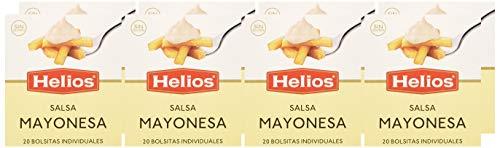 160 bolsitas de mayonesa Helio, total 1,92 Kg