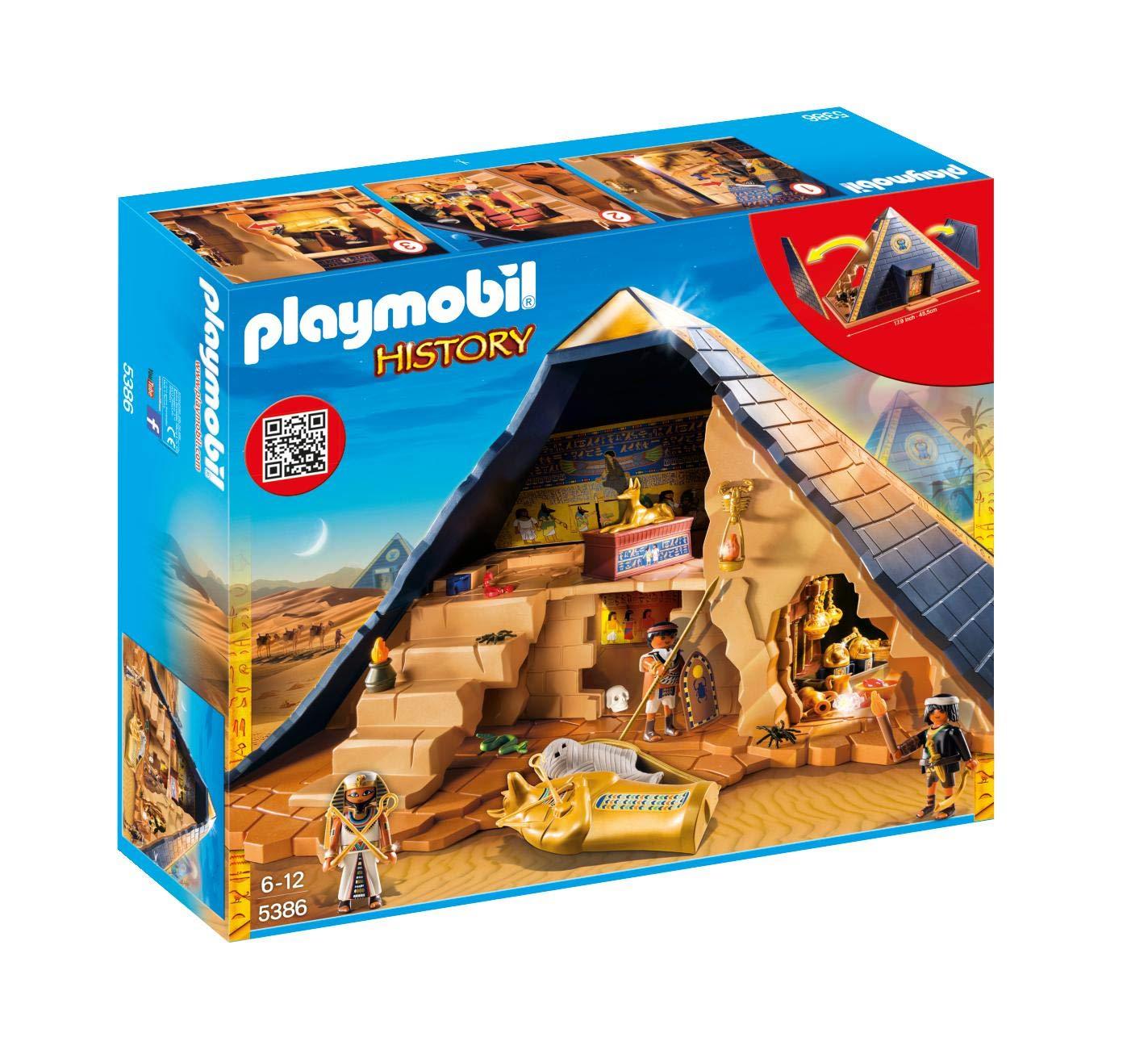 Jueguete Playmobil Pirámide del Faraón 5386
