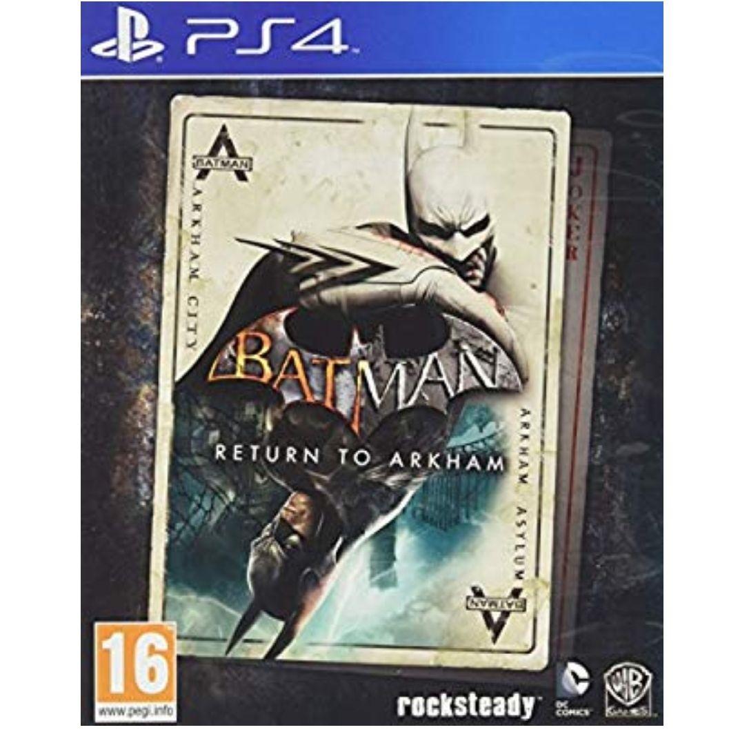 Para PS4 - Batman: Return To Arkham [Importación Italiana]
