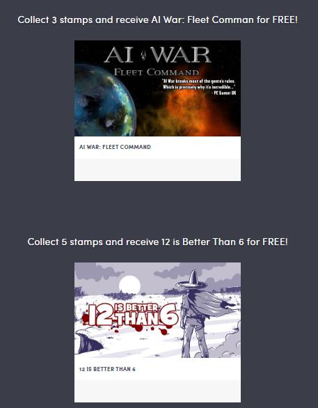PC: AI War: Fleet Comman y 12 is Better Than 6 (gratis tras 3 y 5 días entrando en HumbleBundle)