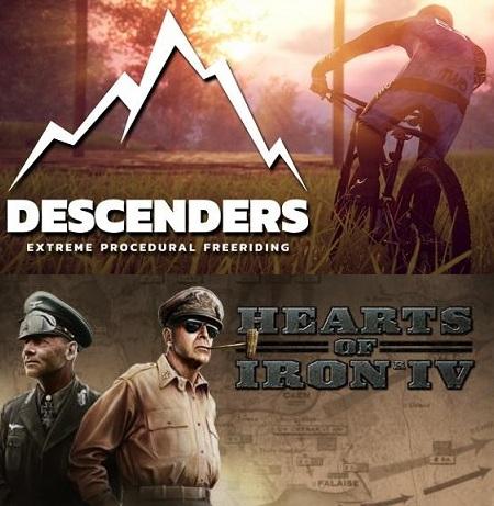 Descenders y Hearts of Iron IV juegos GRATIS durante días Steam