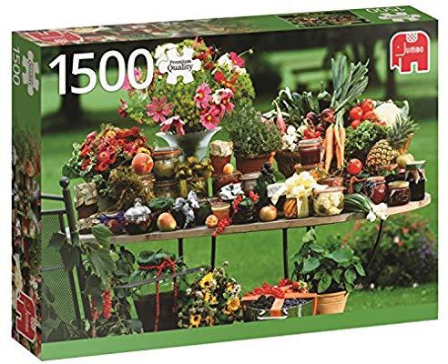 1500 piezas puzzle un poco verde