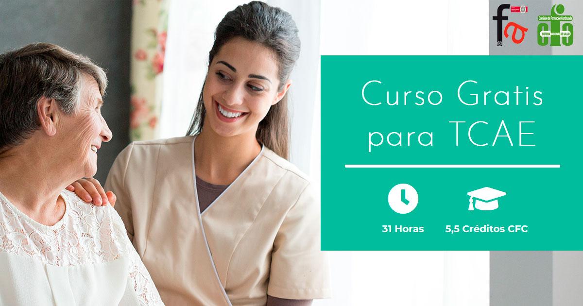 Curso CFC gratis para auxiliares de enfermería