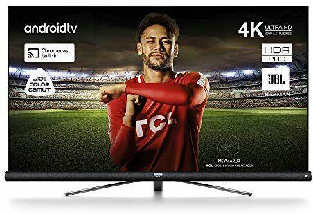"TCL Smart TV de 65"" con UHD 4K, HDR, Wide Color Gamut, Android TV y JBL de Harman Kardon"
