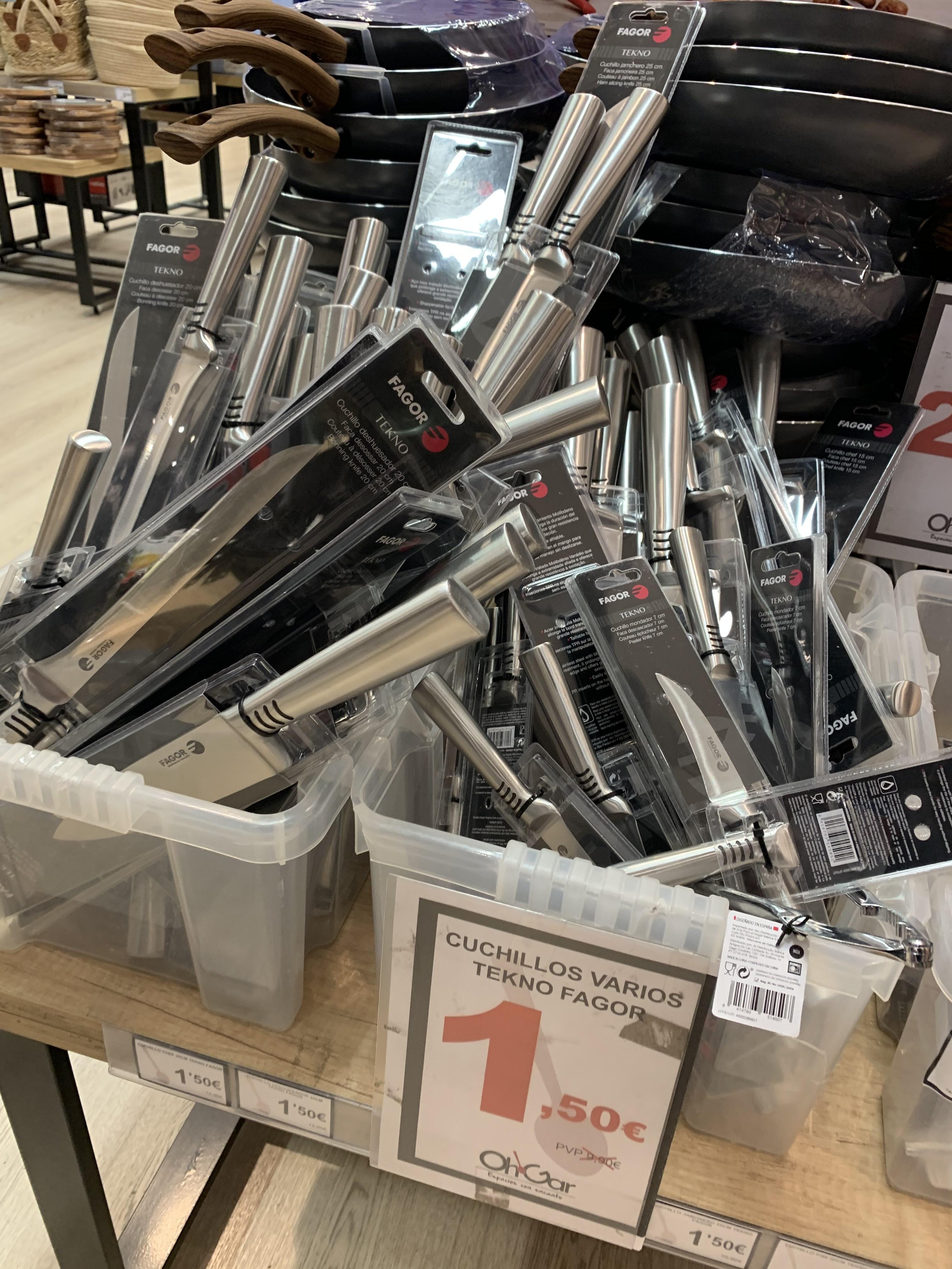 Cuchillos Fagor variados