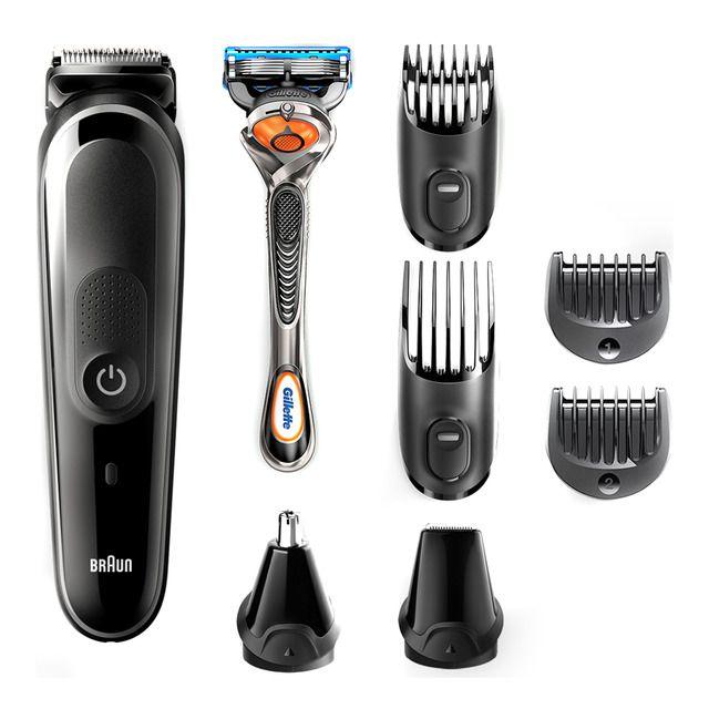 Recortadora Braun MGK5060 8 en 1 barba y cortapelos
